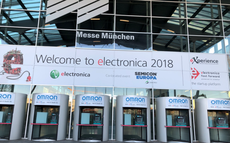 Il PCB JSD ha debuttato al 2018 International Electronics Show a Monaco di Baviera, in Germania